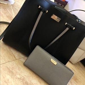 Kate spade purse tote and wallet bundle